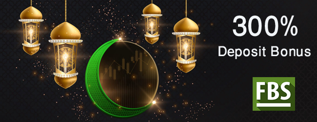 Holy Ramadan offer FBS Deposit Bonus 300% Available Now