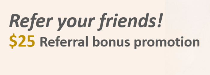 Earn $25 Cash for Every Friend you Refer to MYFX