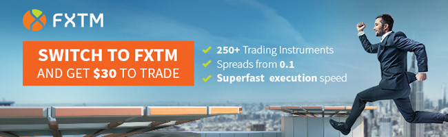 FXTM Promotion Offers $30 Free Tradeabe Credit Bonus