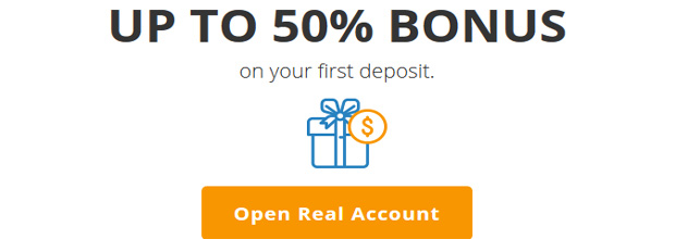Deposit Bonus up to 50% Offered by AvaTrade