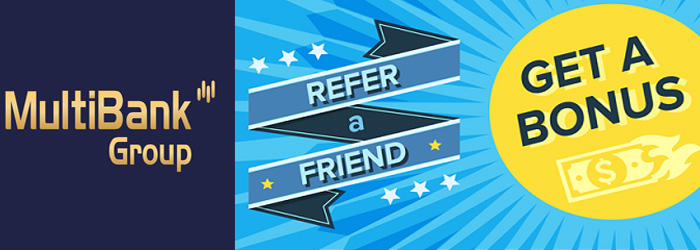 Get up to $400 Refer a Friend Bonus from MultibankFX