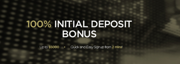 100% Bonus of your deposit amount, up to $5000 - DMM Option