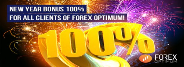 Bonus 100% Replenishment on The Trading Account - Forex Optimum