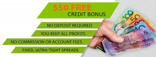 $50 Forex No Deposit Bonus for your live trading account-DMM FX