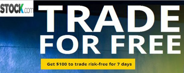 $100 Risk-free trade for all live trading account - STOCK