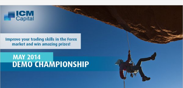 May 2014 Demo Championship, win prizes worth a combined 4000 USD -ICM Capital