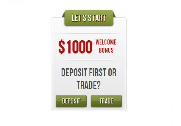 Trade Now NEW! Get 100% bonus on any deposit or increase it up to 125%!