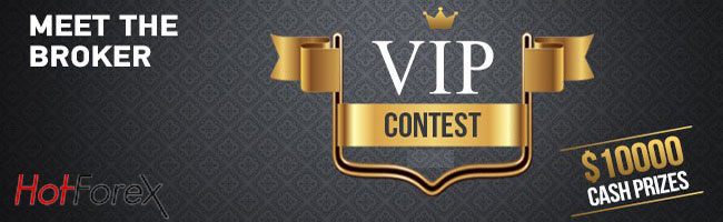 VIP Forex Live Trading Contest 2017 - HotForex