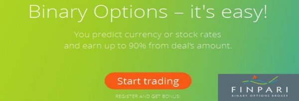 Up to 100% Bonuses to initial your trading deposits - Finpari