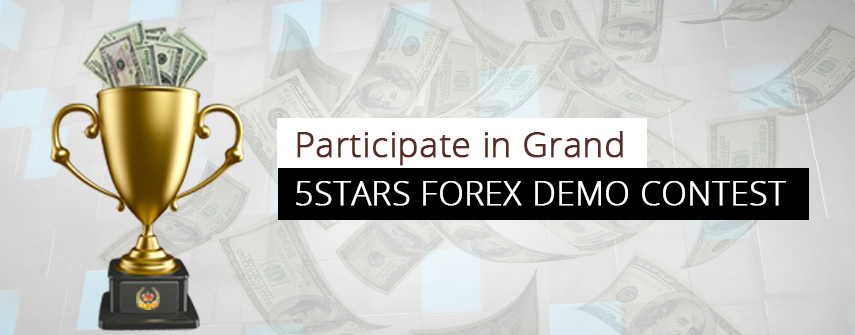 Forex Demo Contest 2016 Prize fund is $4450 - 5Stars Forex