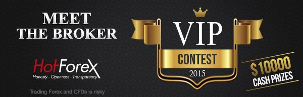 Forex VIP Trading Contest 20117/2018 Cash Prize of $10,000 - HotForex