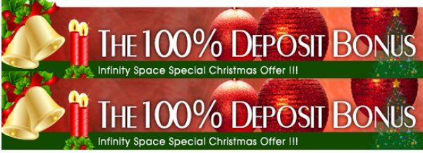 Forex 100% Cash Back Bonus on your First deposit - Infinity Space