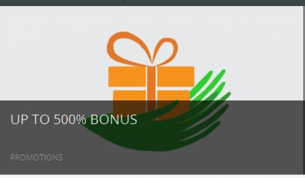 Up to 500% deposit bonus - Capital One Forex