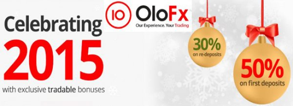 50% Forex Tradable Bonus for new account activations – OloFX