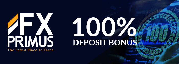 100% Bonus on your first Deposit on FxPrimus
