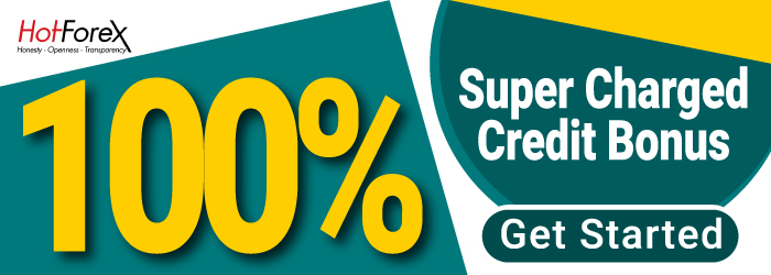 100% SuperCharged Credit Bonus on HotForex