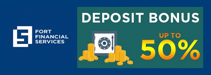 Receive up to 50% Deposit Bonus from FortFS
