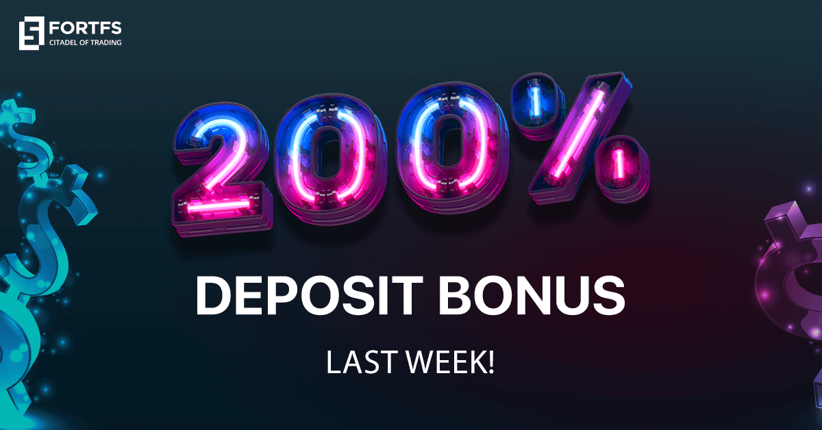 Get 200% Bonus Limited Time only from FortFS