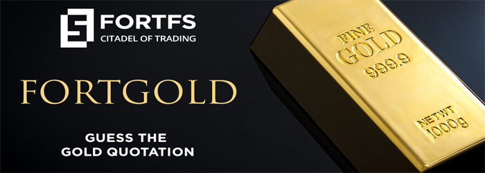 Free 10 USD Guess the Price of Gold on FortFS
