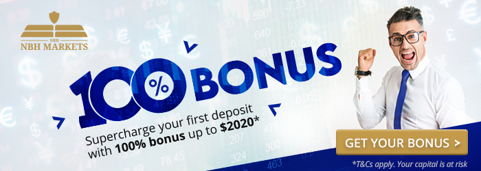 100% Trading Bonus up to $2020 on NBHM