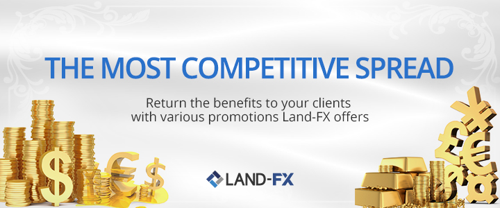 Obtain 10% Each Deposit Bonus on LandFX