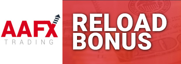 Received up to 30% Reload Bonus from AAFX
