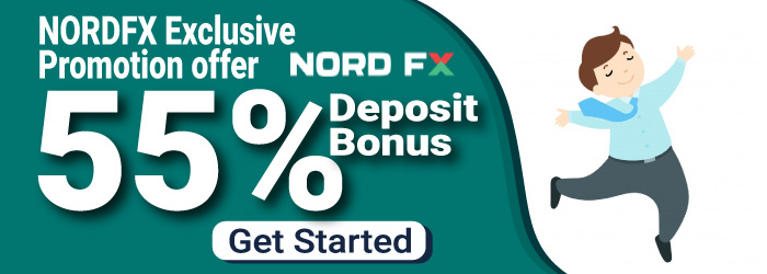 Get 55% Trading Bonus Up to $4400, NordFX