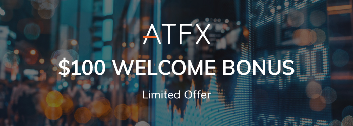 Get $100 Welcome Free Credit Bonus on ATFX