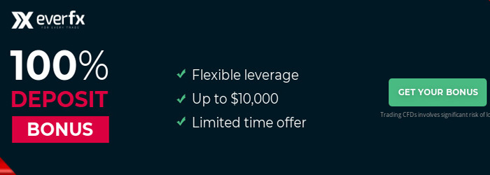 100% Bonus Limited Time Offer from EverFX
