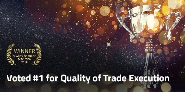 Best for Quality of Trade Execution 2019 by Investment Trends