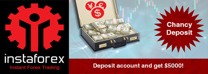 Deposit $3000 and Get $5000 from InstaForex