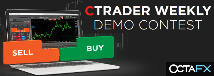 Join Weekly Demo Contest Win $150, OctaFX