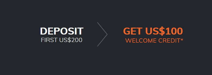 $100 Welcome Free Credit Promotion on ATFX