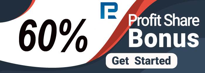 60% Profit Share Bonus offer, RoboForex