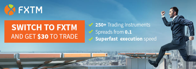 Completely Free $30 Tradable Credit on FXTM